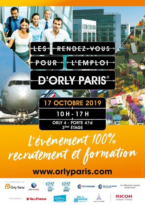 Affiche Les Rendez-vous d'Orly Paris