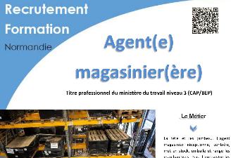 AGENT MAGASINIER - AFPA EVREUX