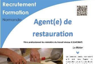 FORMATION AGENT DE RESTAURATION