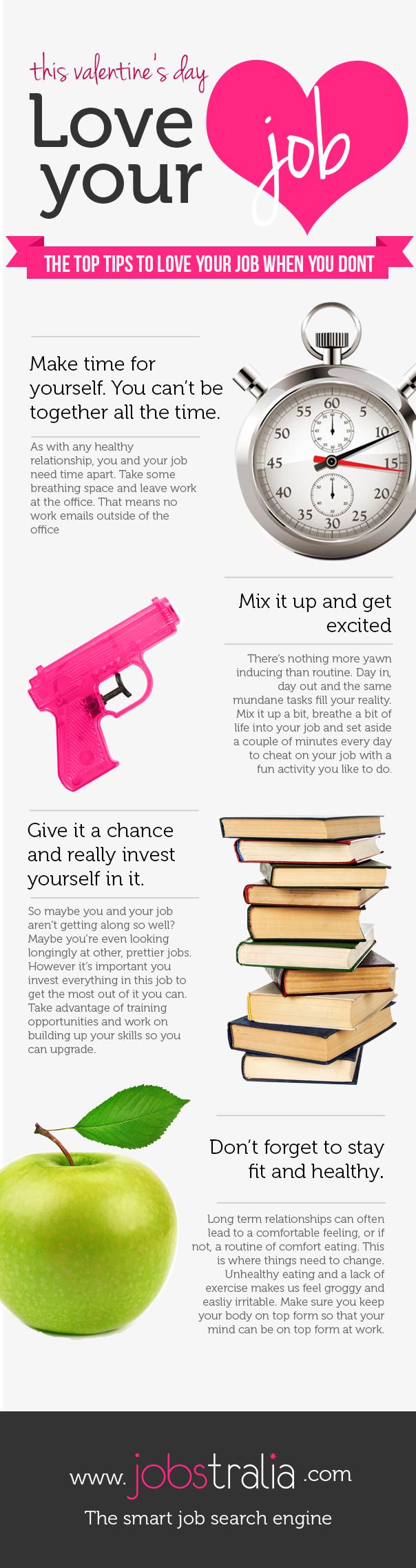 Love your Job - Jobijoba UK Infographic