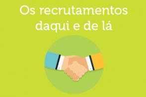 Infografia hábitos de recrutamento