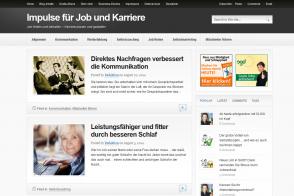 Blog Impulse für Job und Karriere