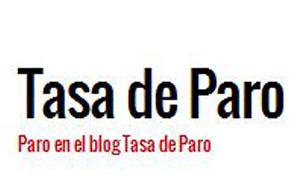 Blog Tasa de paro