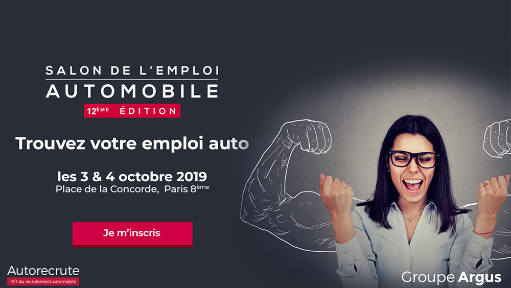 Invitation salon de l'emploi automobile autorecrute Paris 2019