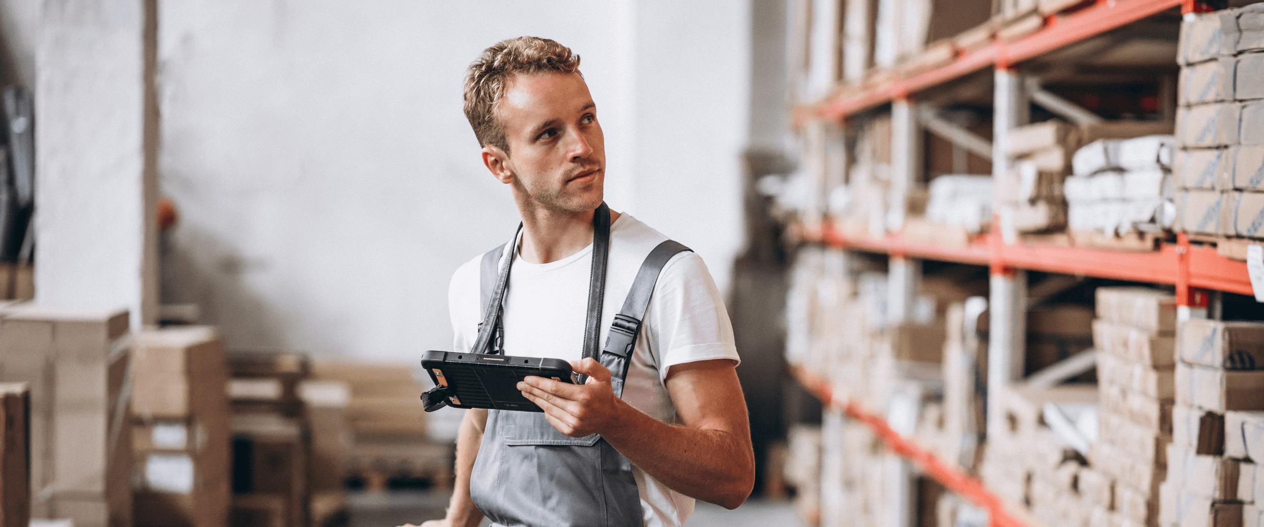 Agent d'entrepôt chez Amazon