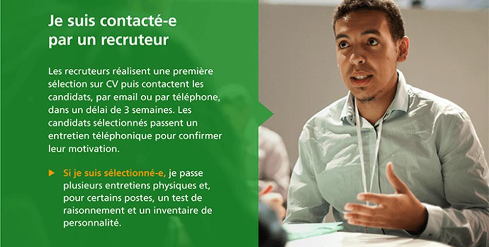 Recrutement EDF processus entretien
