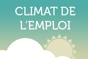 Climat de l'emploi : premier trimestre 2016