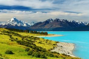 paysage paradisiaque de Nouvelle Zélande