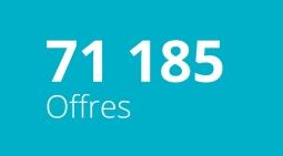 71 185 Offres