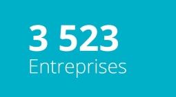 3 523 Entreprises