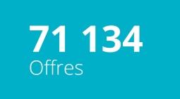 71 134 Offres