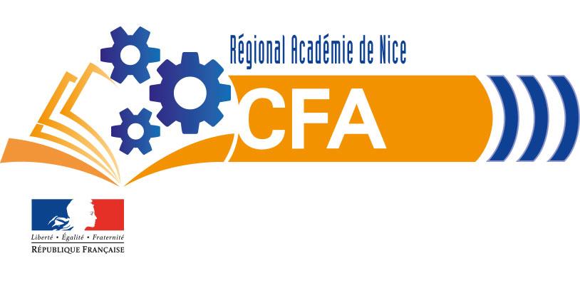 Logo CFA de l'Académie de Nice