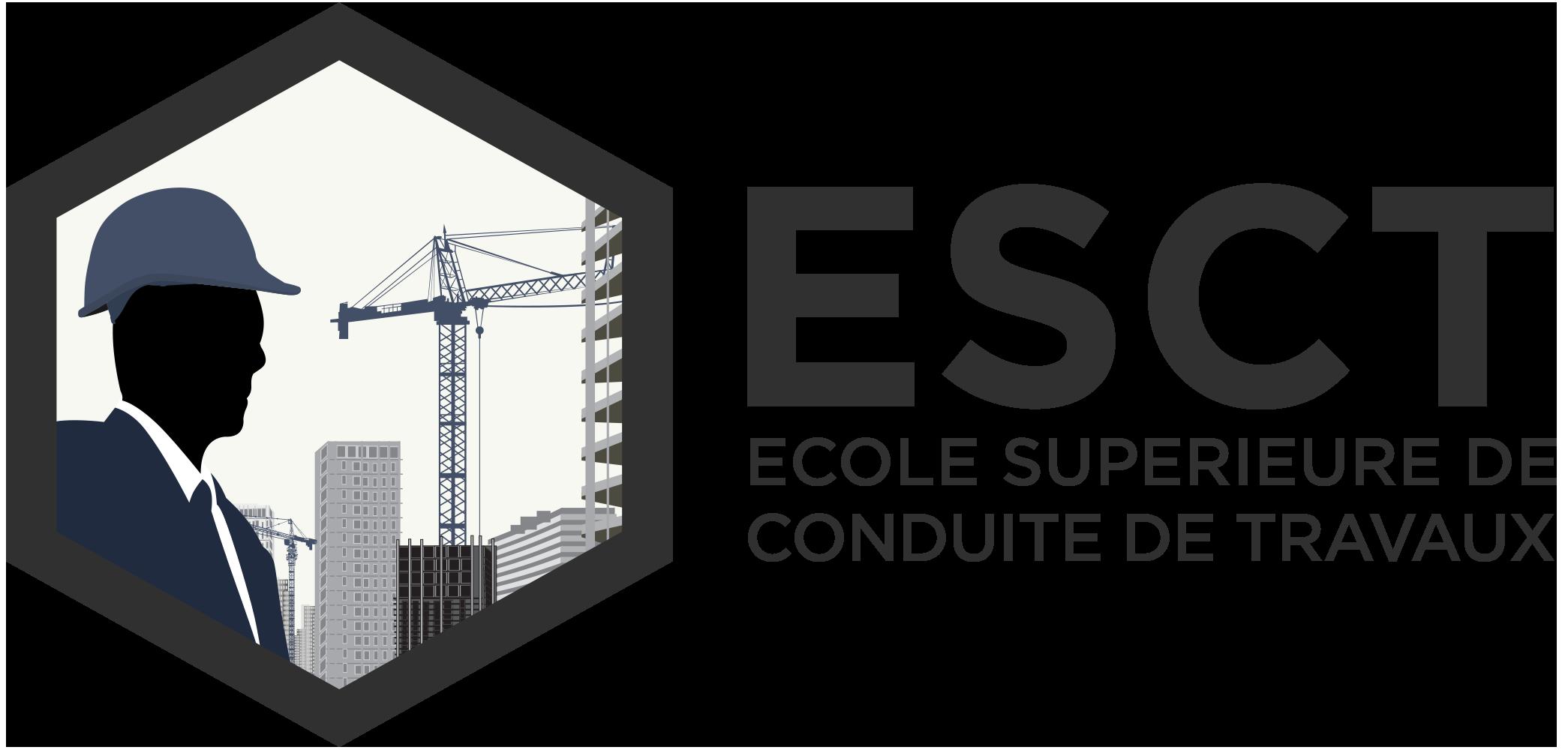 Logo ESCT - Ecole Supérieure de Conduite de Travaux
