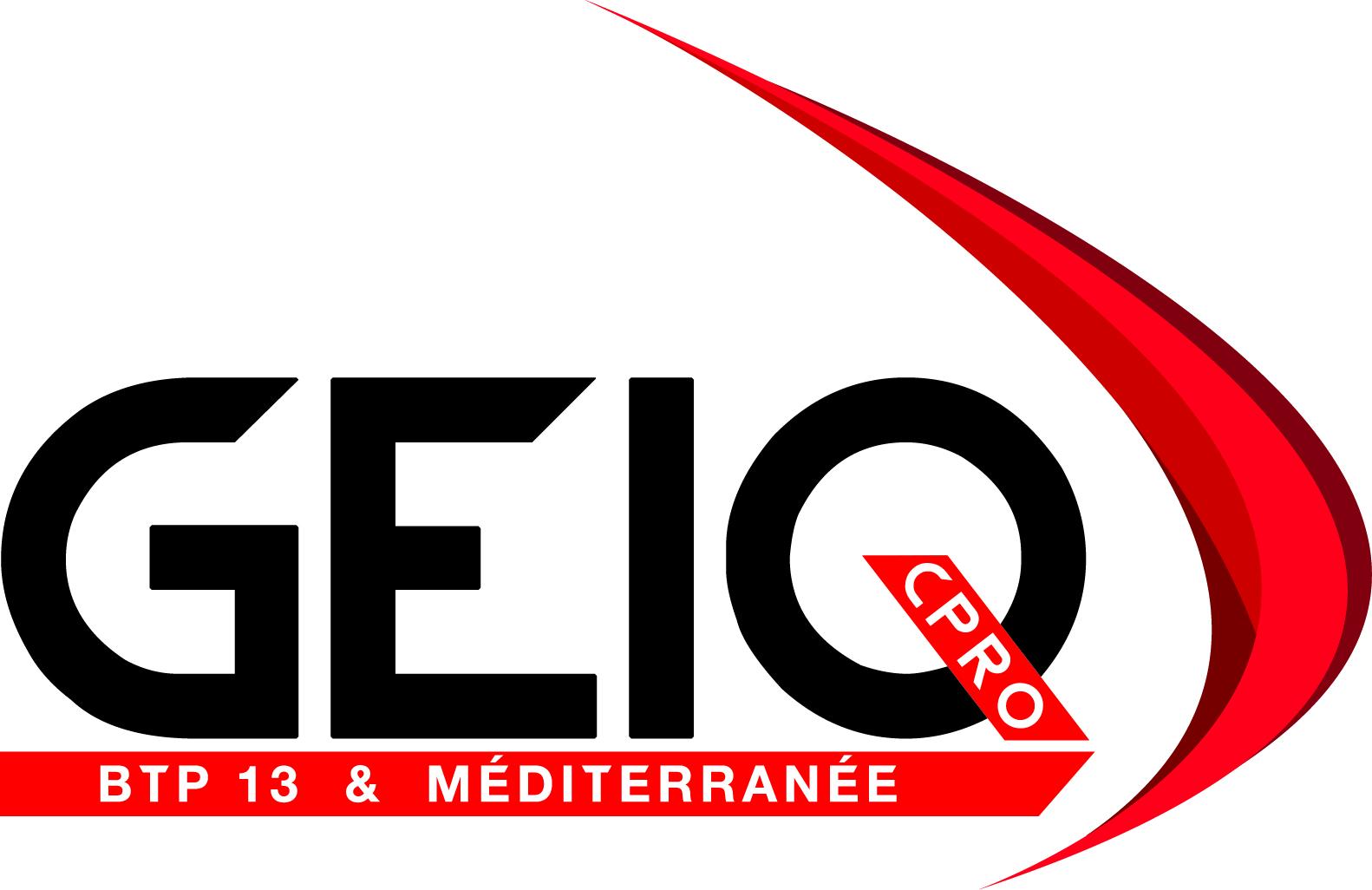 Logo GEIQ BTP 13 & Méditerranée