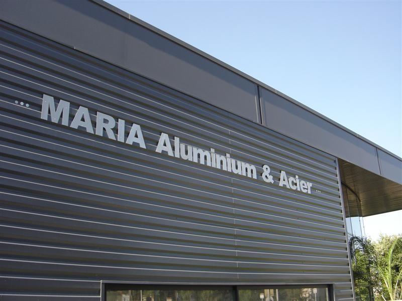 Logo MARIA Aluminium & Acier