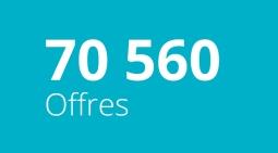70 560 Offres