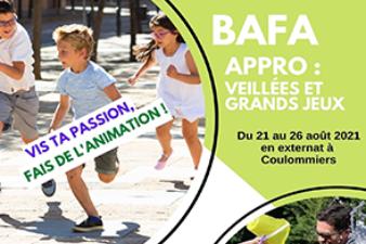 """Formation BAFA Approfondissement """"Veillées et grands jeux"""" ( Coulommiers)"""
