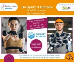 """""""Du Sport à l'Emploi"""""""