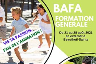 Formation générale BAFA (en externat) du 21 au 28 aout (Beautheil-Saints)
