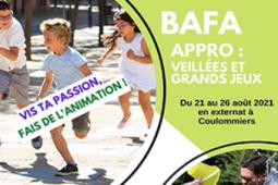 """Formation BAFA Approfondissement """"Veillées et grands jeux"""""""