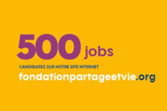 « Opération 500 jobs étudiants Partage et Vie »