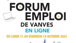 Forum Emploi de la ville de Vanves en ligne