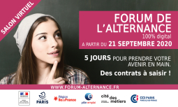 Forum de l'alternance 100% digital