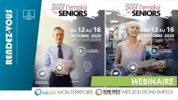 Une semaine dédiée à l'emploi des seniors du 12 au 16 octobre 2020 !