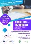 Inscrivez-vous pour le Forum Intérim 2021 de la CCHF