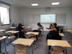 Intervention au collège Coberghé à Bergues