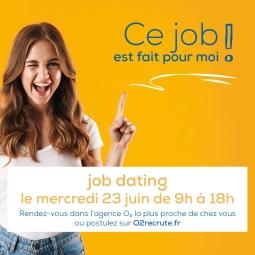 Job dating agence O²