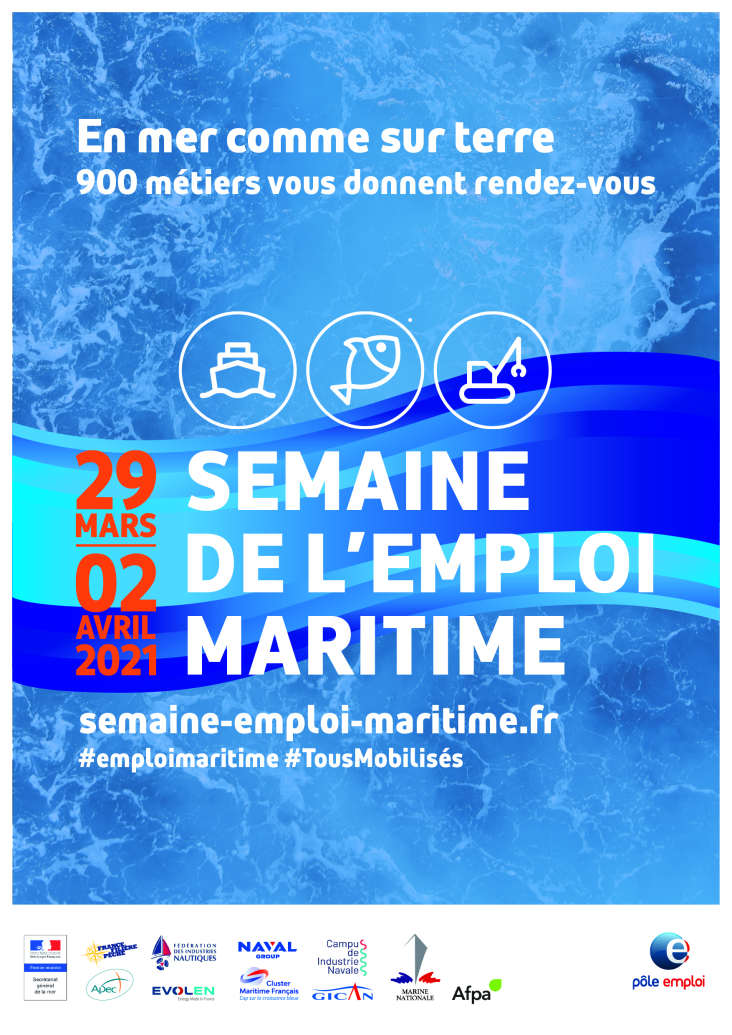 La semaine de l'emploi maritime !