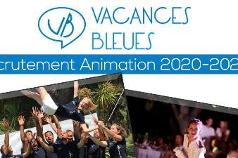 recrutement animation 2020/2021
