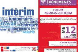 Forum Agences d'intérim
