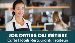 Retour sur le Job Dating pour les métiers des Cafés Hôtels Restaurants Traiteurs