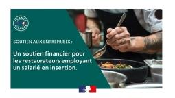 Un soutien financier pour les restaurateurs employant un salarié en insertion
