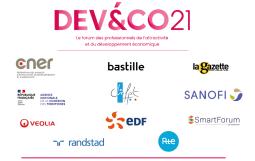 Le forum DEV&CO soutenu par de nombreux partenaires