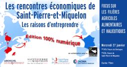 Les rencontres économiques de Saint-Pierre-et-Miquelon