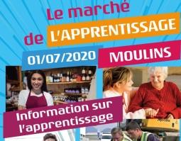 Le marché de l'apprentissage organisé par la Mission locale de Moulins