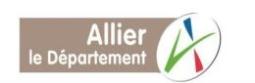 Communiqué de presse plan d'urgence du Département de l'Allier