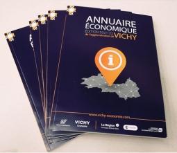 L'ANNUAIRE ÉCONOMIQUE 2021-2022 DE L'AGGLOMERATION DE  VICHY EST DISPONIBLE