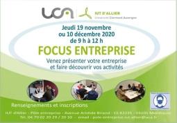 IUT d'Allier  Site de Montluçon - FOCUS ENTREPRISE