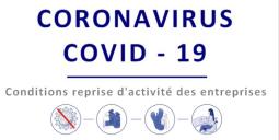 COVID-19 : LES CONDITIONS DE REPRISE D'ACTIVITÉ