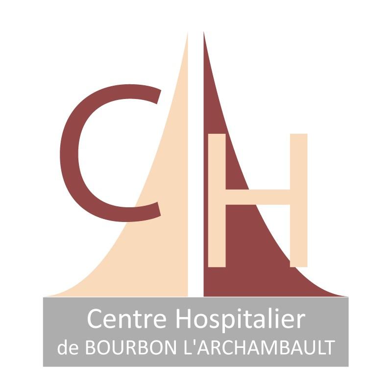 Logo Centre Hospitalier de Bourbon l'Archambault