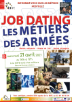 Job dating les métiers des armées à la MIFE sur rendez-vous