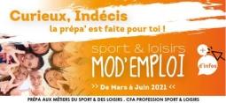 Sport & Loisirs Mod'Emploi: confirme ton projet professionnel et sécurise ton parcours