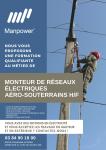 Manpower recrute : Monteur de réseaux électriques
