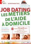 Job dating métiers de l'aide à domicile