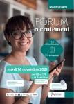 FORUM RECRUTEMENT MONTBELIARD LE 16/11/2021