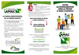 Académie des Métiers de l'Autonomie en Corrèze